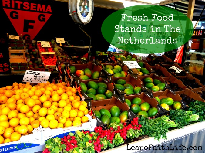 Fresh Food Stands in the Netherlands